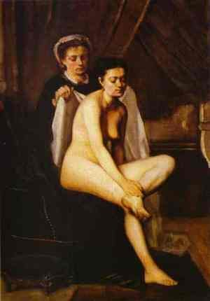 Reproduction oil paintings - Frederic Bazille - After the Bath