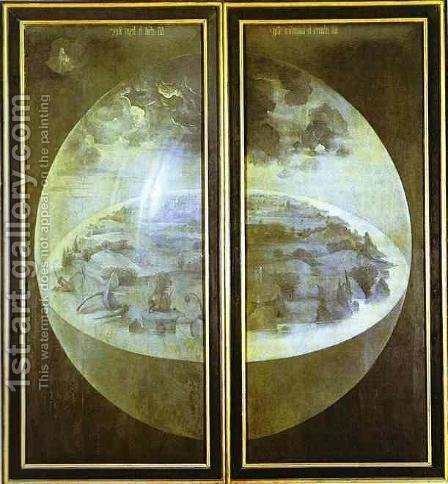 Creation of the World by Hieronymous Bosch - Reproduction Oil Painting
