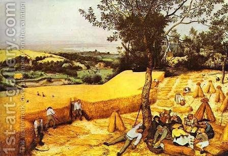 The Harvesters by Pieter the Elder Bruegel - Reproduction Oil Painting