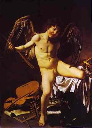 Reproduction oil paintings - Caravaggio - Cupid