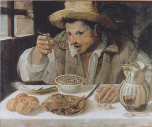Reproduction oil paintings - Annibale Carracci - The Beaneater