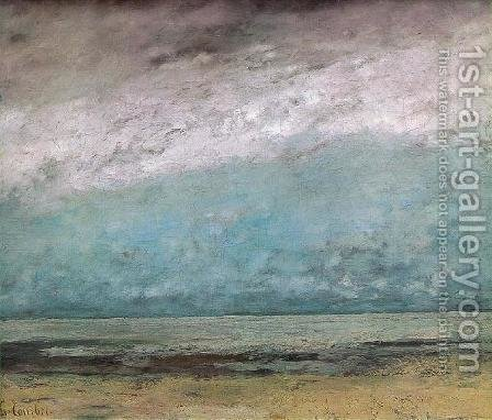 Seacoast 2 by Gustave Courbet - Reproduction Oil Painting