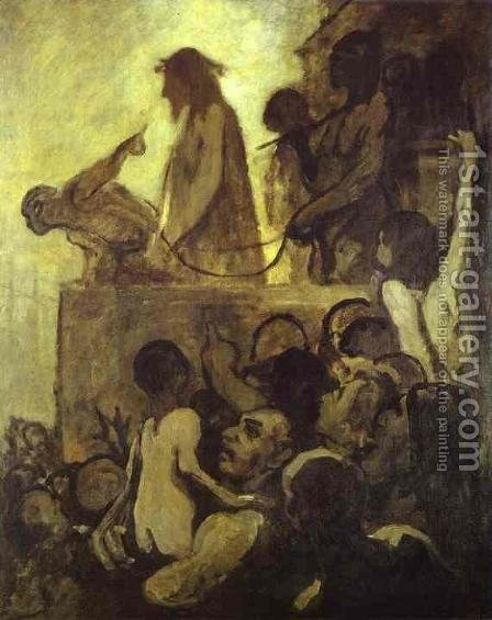 Ecce Homo by Honoré Daumier - Reproduction Oil Painting