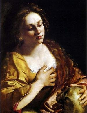 Reproduction oil paintings - Artemisia Gentileschi - Penitent Magdalene