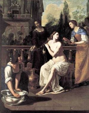 Reproduction oil paintings - Artemisia Gentileschi - David and Bathsheba