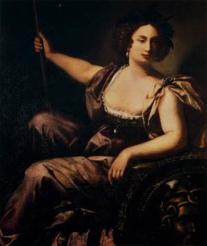 Reproduction oil paintings - Artemisia Gentileschi - Minerva