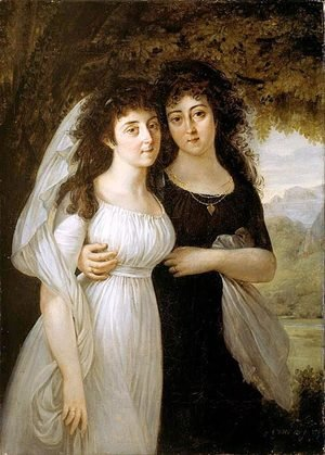 Portrait of the Maistre Sisters