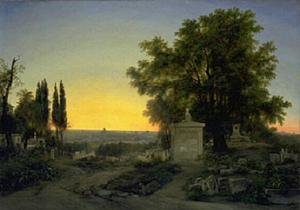 Paris, View of Pere Lachaise
