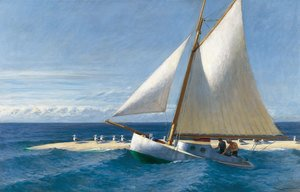 Reproduction oil paintings - Edward Hopper - The Martha Mckeen of Wellfleet