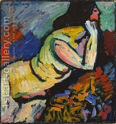 Nude by Alexei Jawlensky - Reproduction Oil Painting