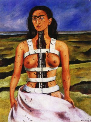 Reproduction oil paintings - Frida Kahlo - The Broken Column