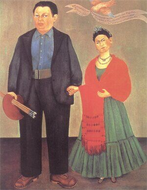 Reproduction oil paintings - Frida Kahlo - Frida and Diego