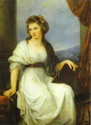 Reproduction oil paintings - Angelica Kauffmann - Self-Portrait