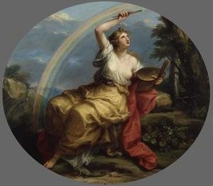 Reproduction oil paintings - Angelica Kauffmann - Colour