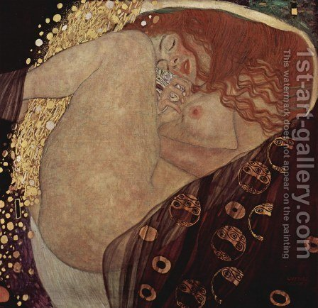 Danae by Gustav Klimt - Reproduction Oil Painting