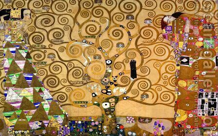 Gustav Klimt: The Tree of Life - reproduction oil painting