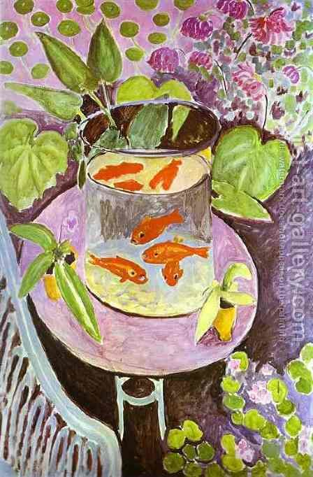 Red Fish by Henri Matisse - Reproduction Oil Painting
