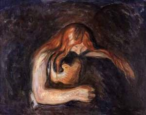 Reproduction oil paintings - Edvard Munch - Vampire
