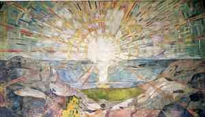 Edvard Munch reproductions - The Sun