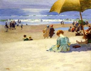 Famous paintings of Parasols and Umbrellas: Hourtide