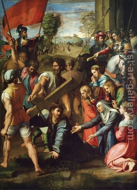 Raphael: The Hill of Calvary - reproduction oil painting
