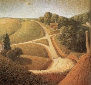 Famous paintings of Summer: New Road