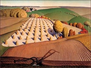 Famous paintings of Summer: Fall Plowing