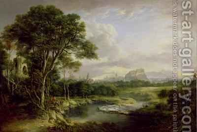 View of the City of Edinburgh 1822 by Alexander Nasmyth - Reproduction Oil Painting