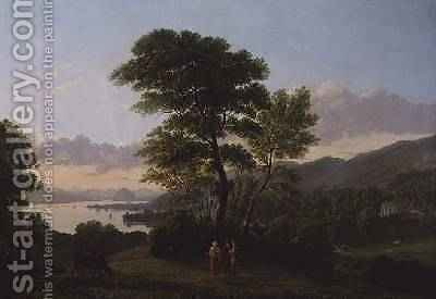 Dumbarton Rock by Alexander Nasmyth - Reproduction Oil Painting