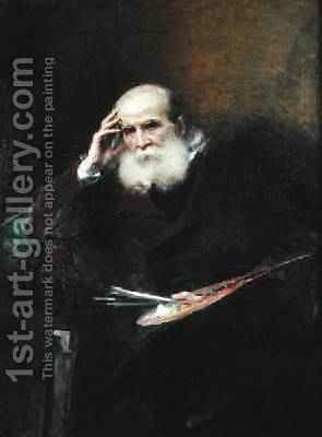 Ernest Hebert 1817-1908 1905 by Aimé-Nicolas Morot - Reproduction Oil Painting