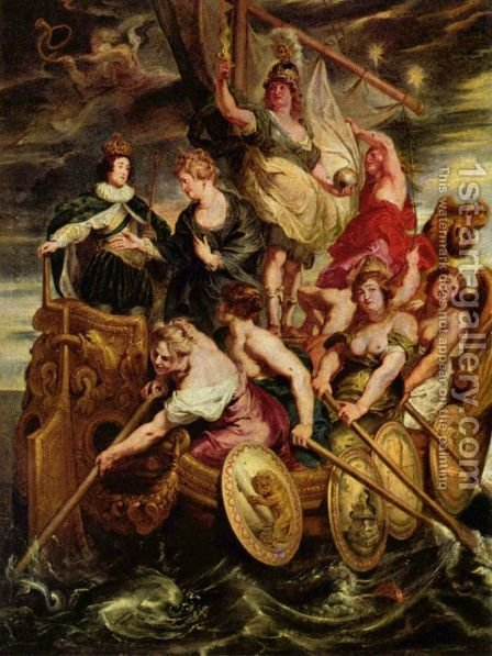Rubens: The Majority of Louis XIII - reproduction oil painting