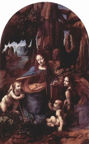 Reproduction oil paintings - Leonardo Da Vinci - Madonna of the Rocks