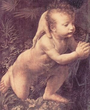 Reproduction oil paintings - Leonardo Da Vinci - Madonna with the Yarnwinder (detail)