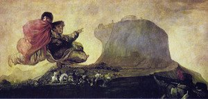 Reproduction oil paintings - Goya - Asmodea