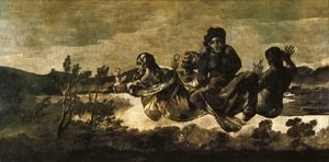 Reproduction oil paintings - Goya - Atropos (The Fates)