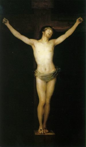 Reproduction oil paintings - Goya - Crucified Christ