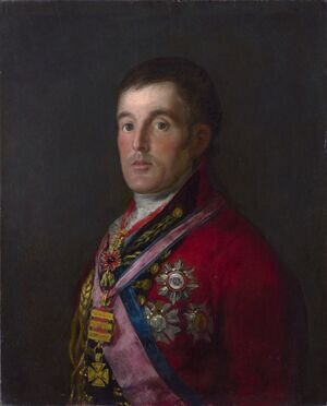 Famous paintings of Men: Portrait of the Duke of Wellington