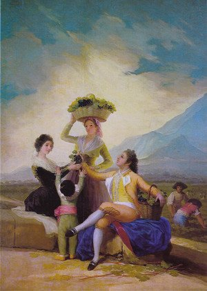 Reproduction oil paintings - Goya - The Vintage