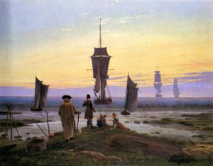 Reproduction oil paintings - Caspar David Friedrich - The life stages