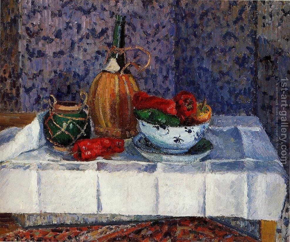 Huge version of Still Life with Spanish Peppers