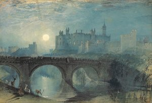 Reproduction oil paintings - Turner - Alnwick Castle, Northumberland