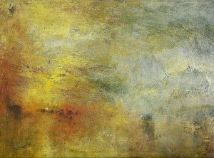 Reproduction oil paintings - Turner - Sun Setting over a Lake