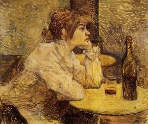 Reproduction oil paintings - Toulouse-Lautrec - Hangover (The Drinker)