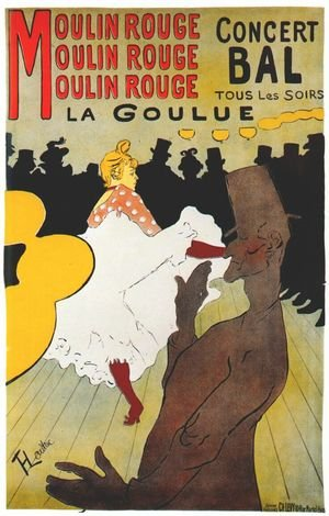 Reproduction oil paintings - Toulouse-Lautrec - La Goulue, concert balll