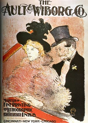Reproduction oil paintings - Toulouse-Lautrec - The Ault Wiborg