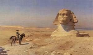 Bonaparte Before the Sphinx