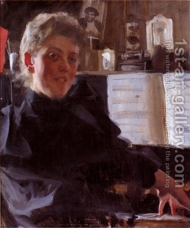 Augusta Gran by Anders Zorn - Reproduction Oil Painting