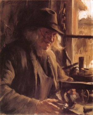 Reproduction oil paintings - Anders Zorn - Boslanders