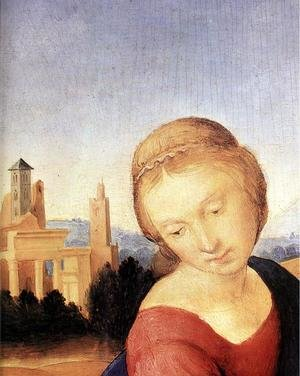 Reproduction oil paintings - Raphael - Madonna and Child with the Infant St John (detail)