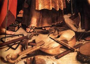 Reproduction oil paintings - Raphael - St Cecilia (detail) 2